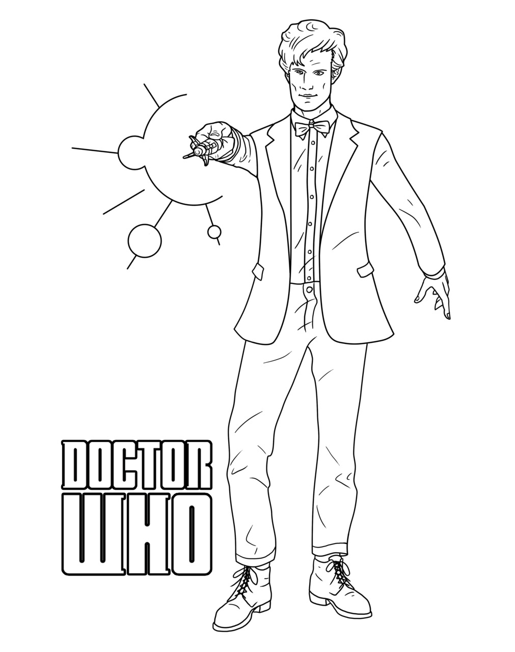 Doctor Who Coloring Pages AZ