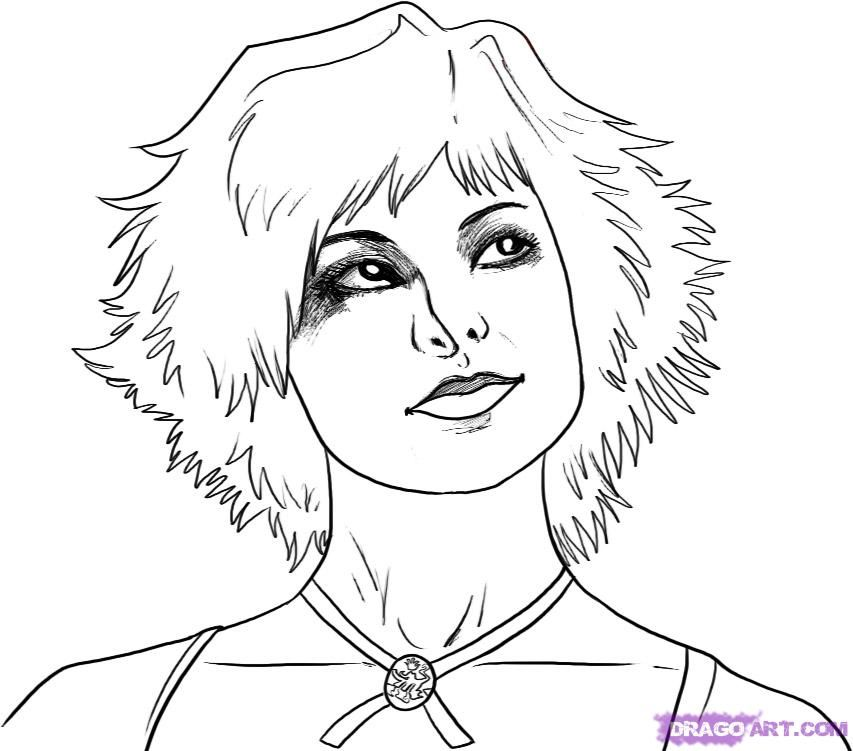 Vampire Coloring Pages Coloring Home