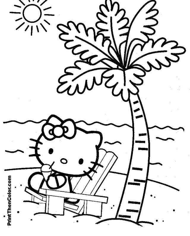 Inspirational White Black Hello Kitty Coloring Pages