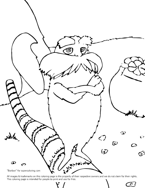 coloring pages of dr seuss - photo#15