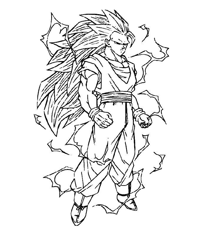 Dibujos Para Colorear E Imprimir De Dragon Ball Z Kai Imagui