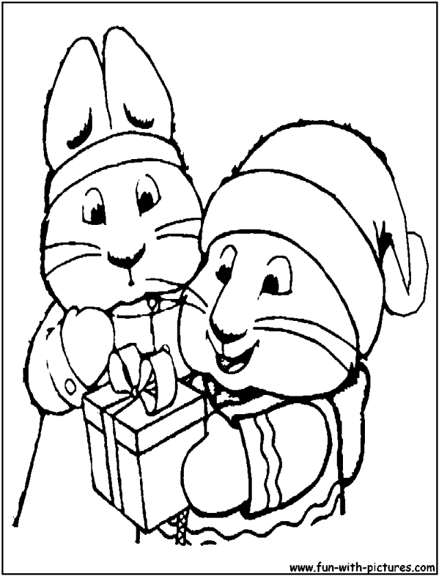 max and rubi coloring pages - photo#23