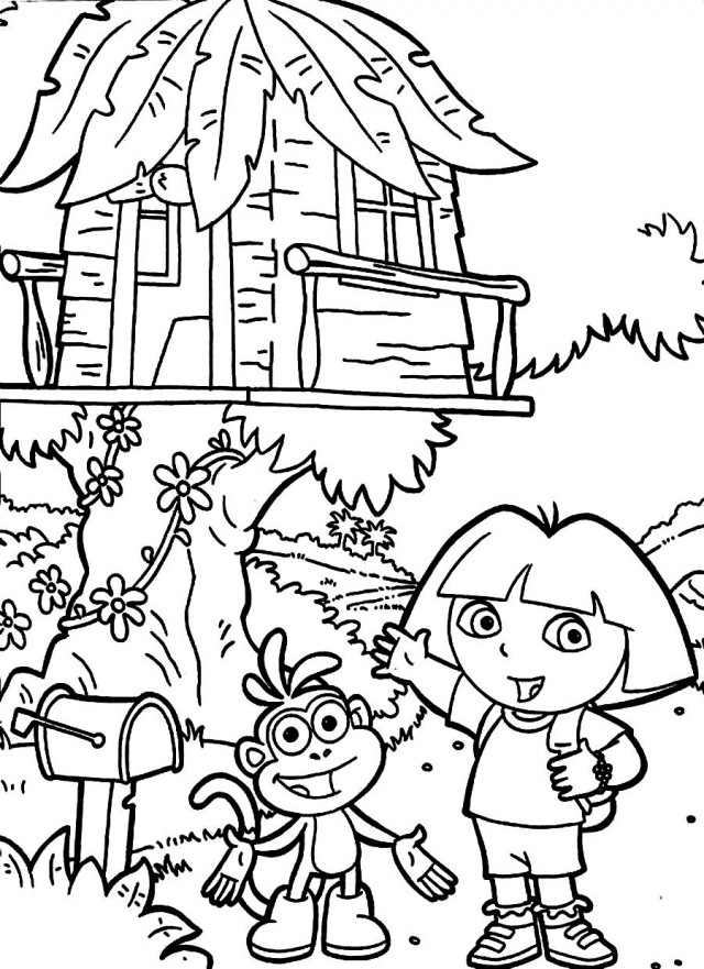 Magic Tree House Coloring Pages Az Coloring Pages Tree House Coloring Pages