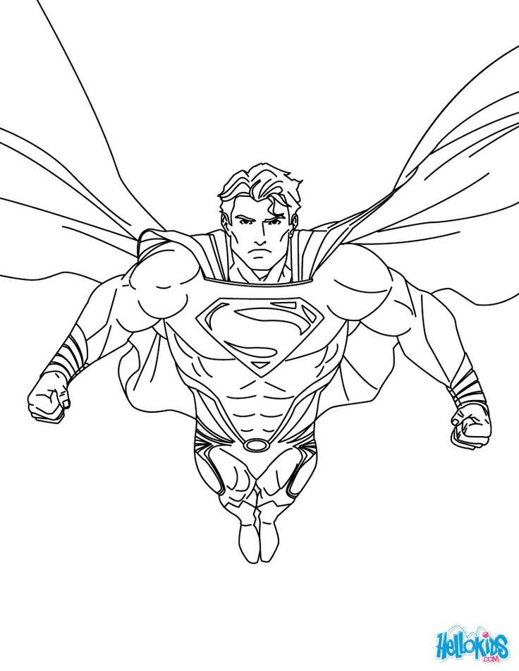 supervillains coloring pages to print - photo#19