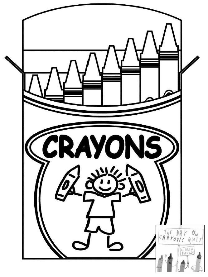 Crayola Crayon Coloring Pages