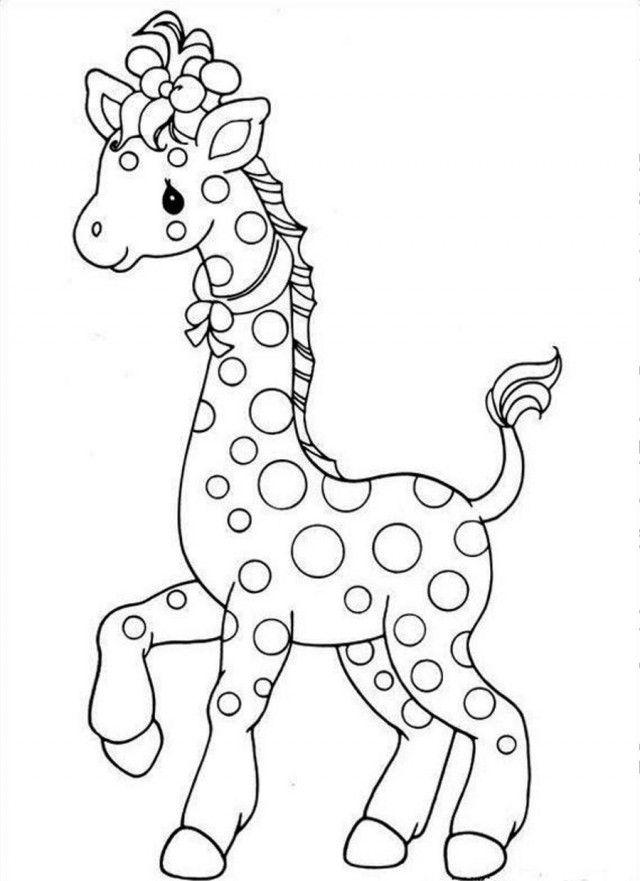 Precious Moments Giraffe - Coloring Home