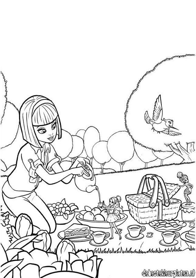 thumbelina 1994 coloring pages - photo#45