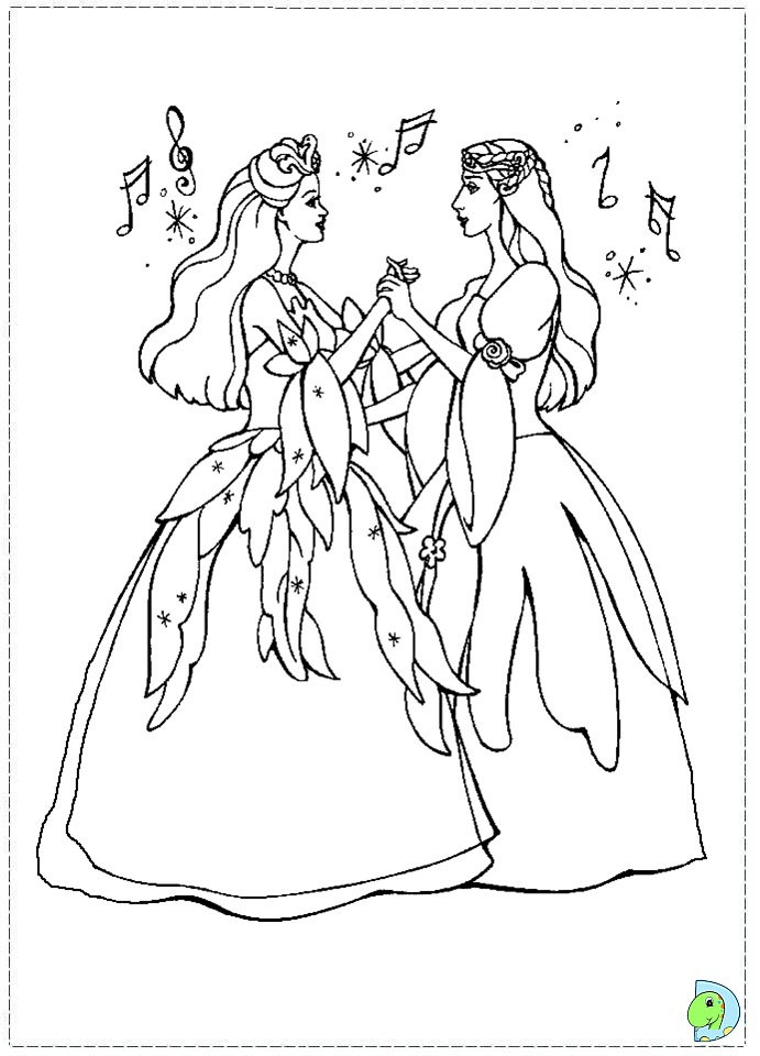 Princess Odette Coloring Pages