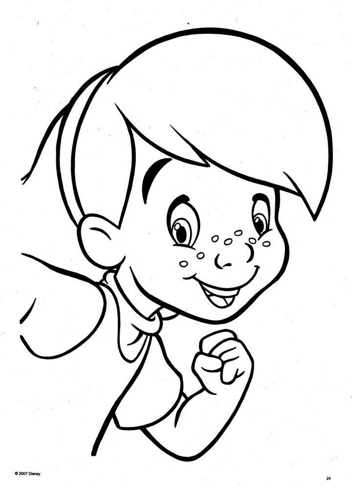 pooh baire coloring pages - photo#27