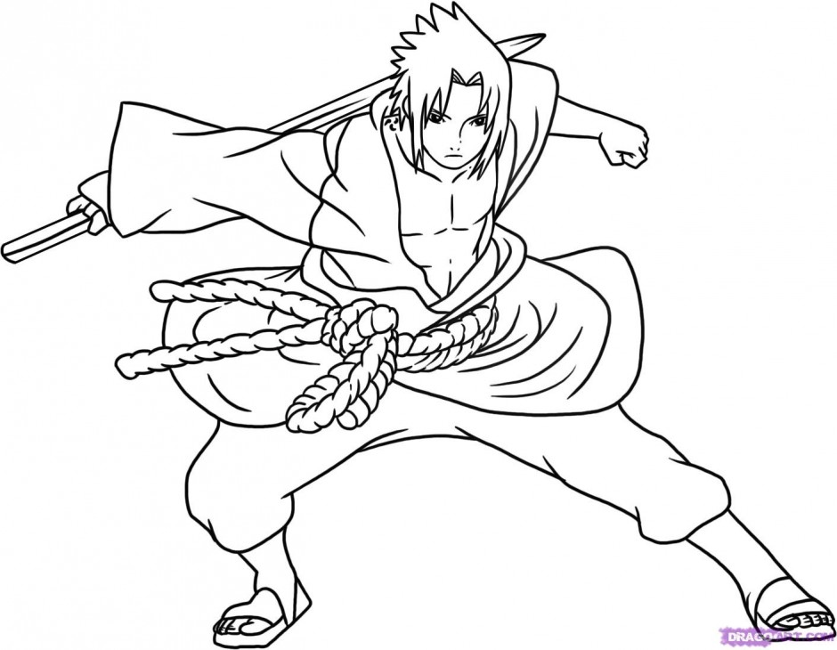 coloring pages of naruto - photo#30