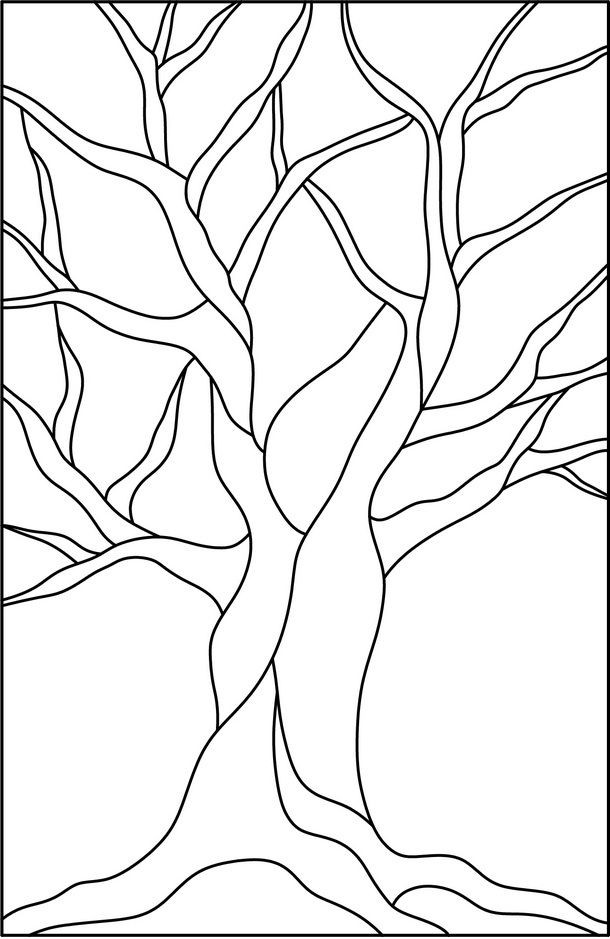 Free Coloring Pages Of Trees Without Leaves Coloring Pages Of Trees Without Leaves