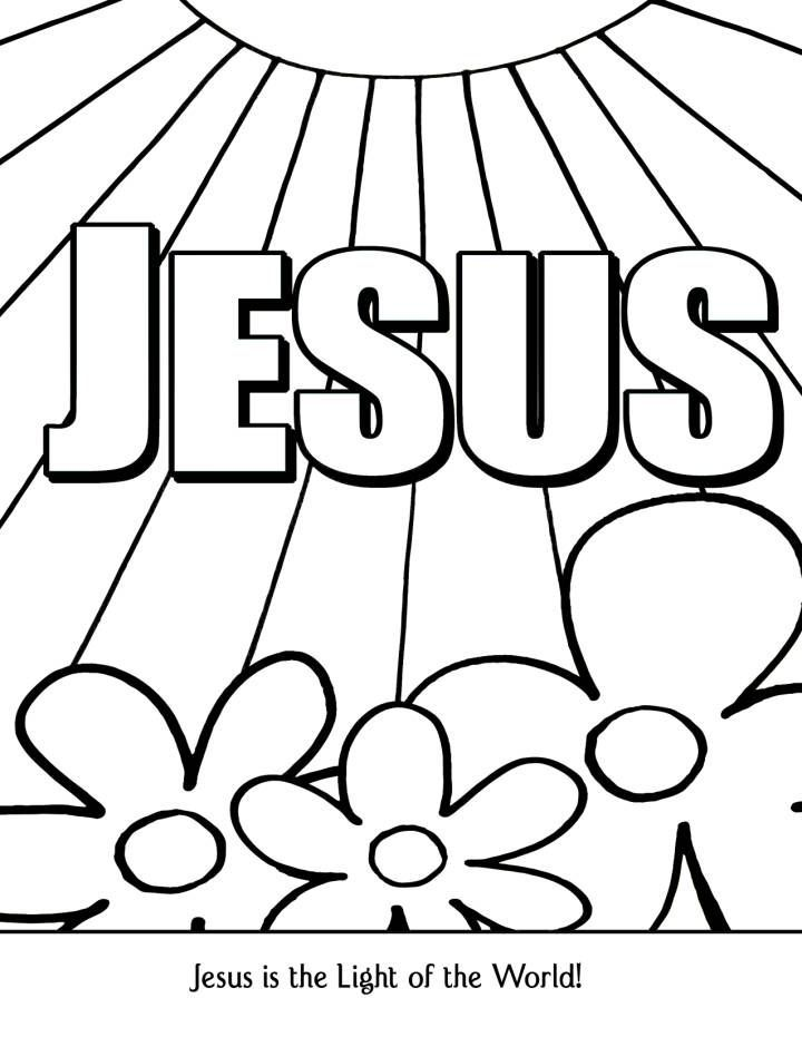 jesus is the light of the world coloring page jesus is the light of the world coloring page coloring home