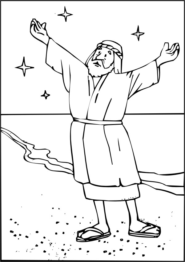 bible coloring pages baby isaac - photo#26