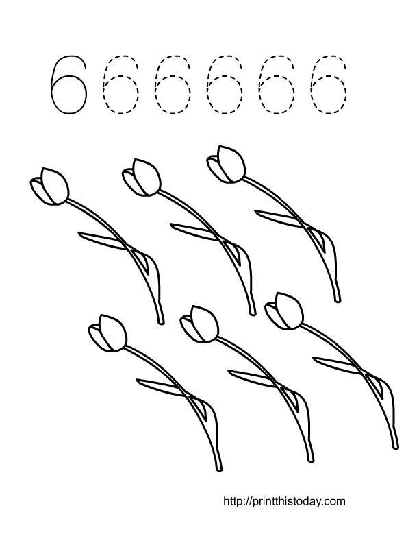 Numbers Tracing Clip Art.Tracing Clipart. Numbers Colouring Sheets ...