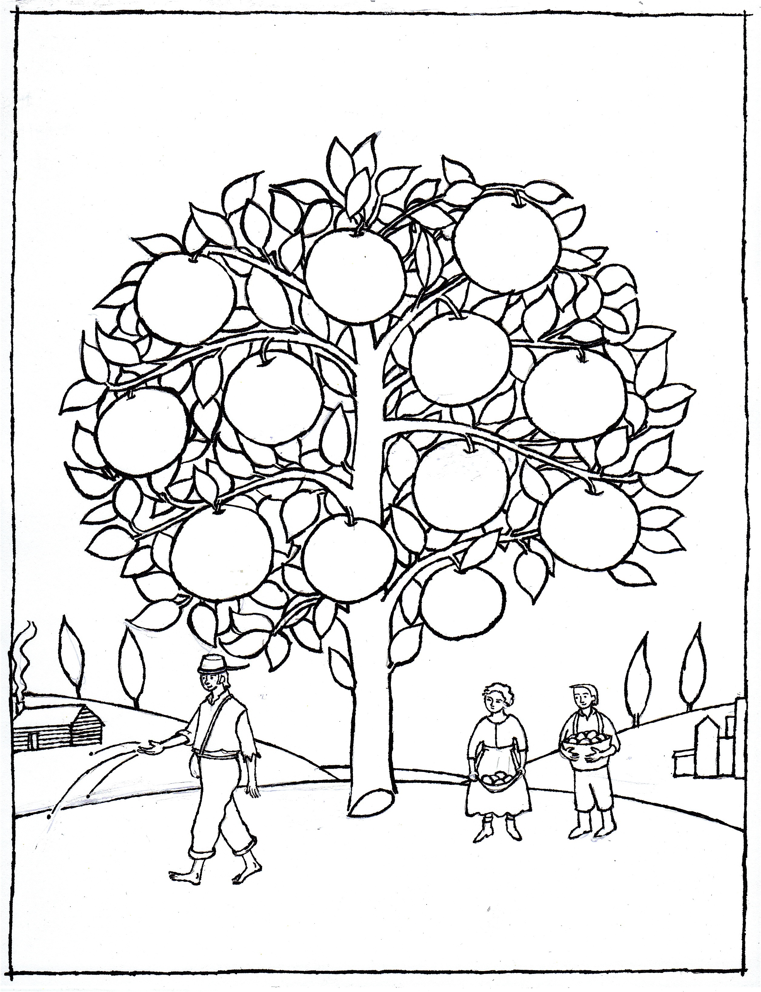 Coloring Activity Pages