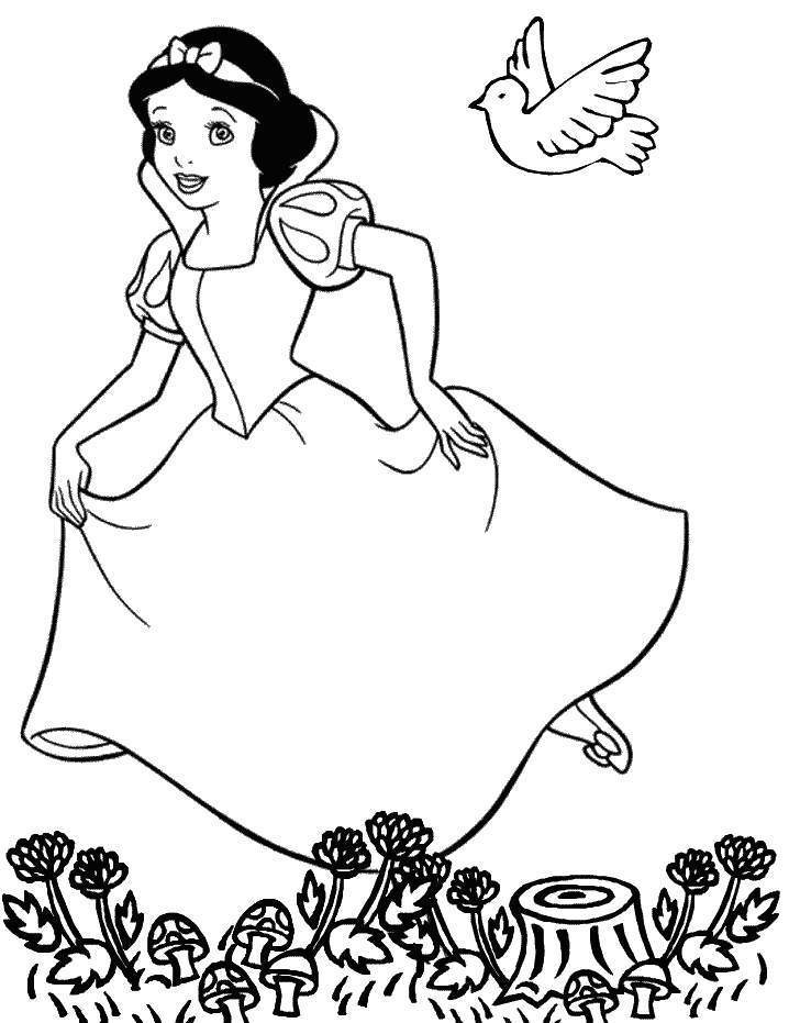 Coloring Pages Cartoon Characters : Disney cartoon characters coloring pages home