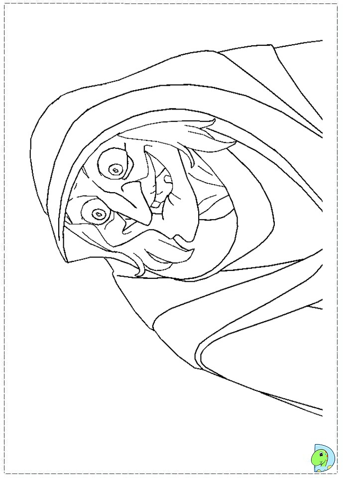 Princess Giselle Coloring Pages : Enchanted coloring pages az