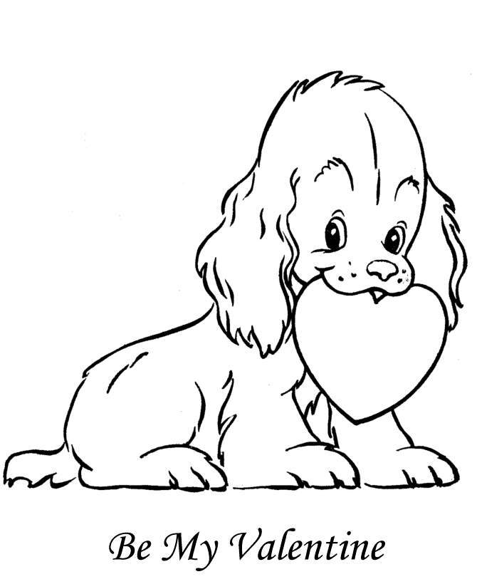 Cute Puppies Coloring Pages Coloring