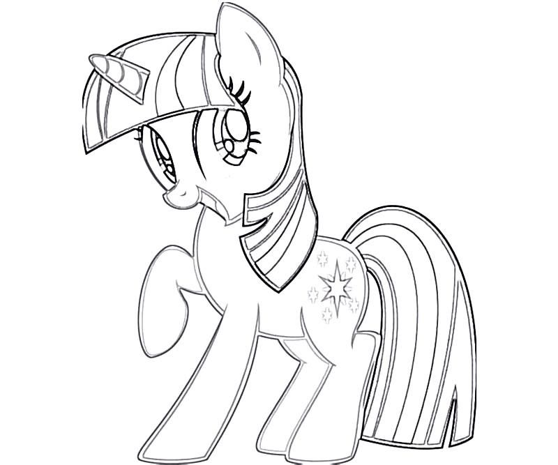Twilight sparkle coloring pages for Twilight sparkle coloring page
