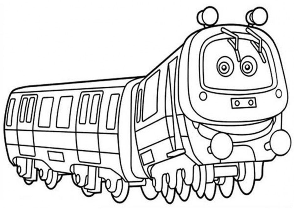 Chuggington pictures coloring home for Chuggington coloring pages