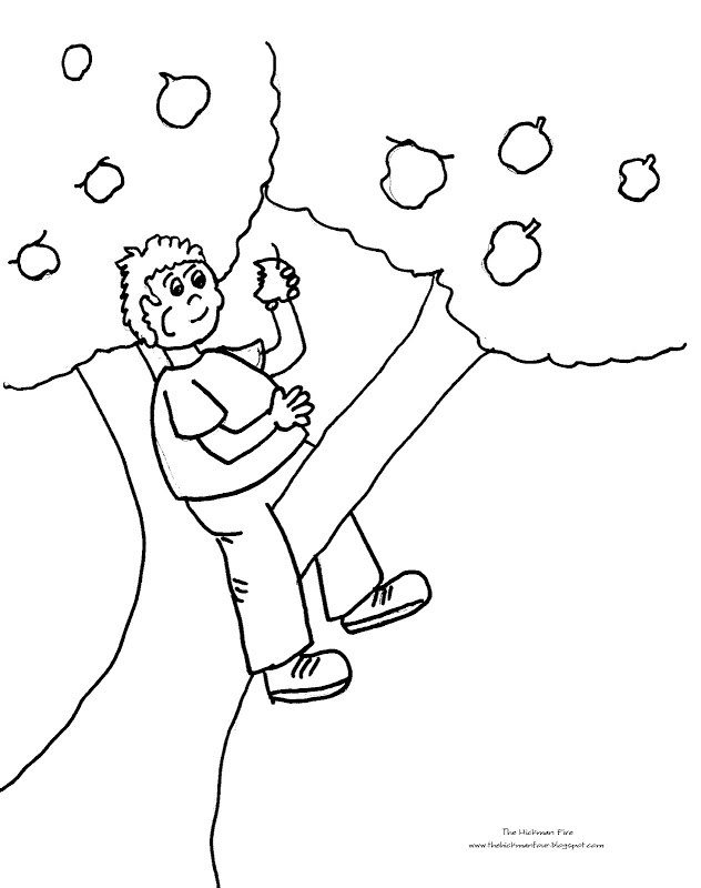 Coloring Pages Of Apples