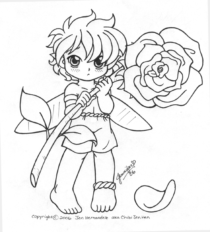 Fairy Boy With Flower Otakon06 By Chibi-jen-hen On ...