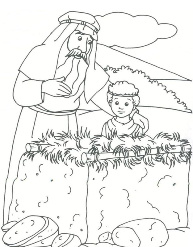coloring pages of bible characters - photo#21