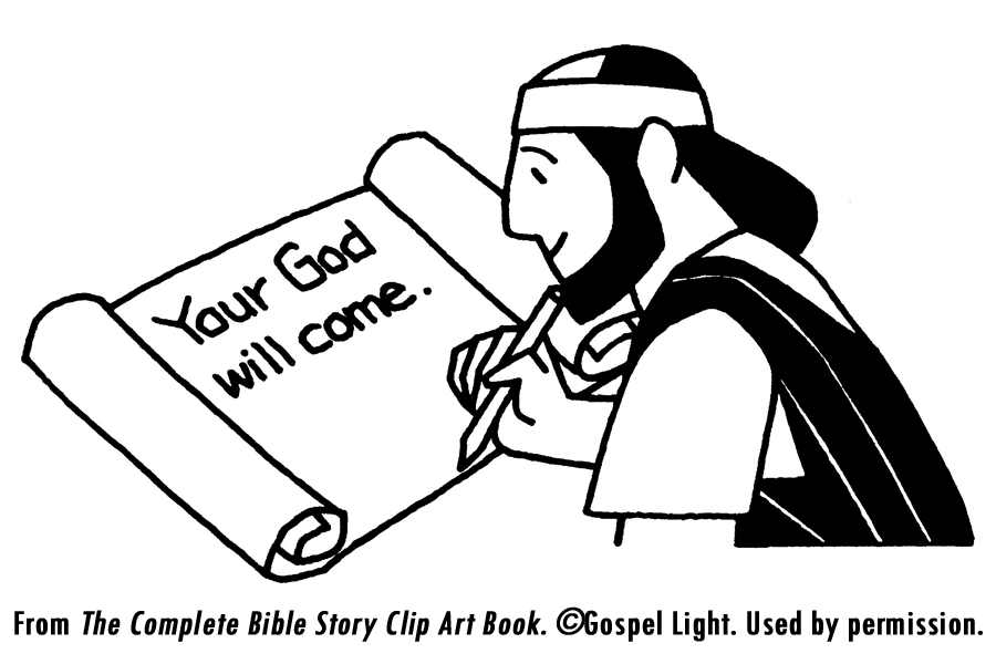 Dtlk crafts az coloring pages for Isaiah told about jesus coloring page