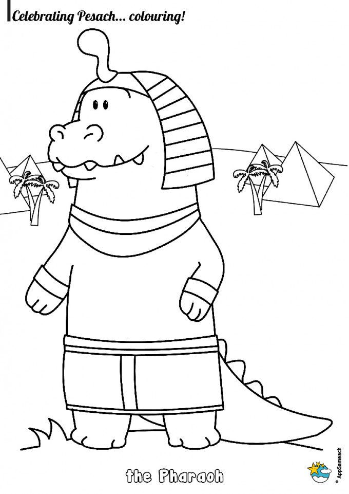 Passover Coloring Pages | AppSameach