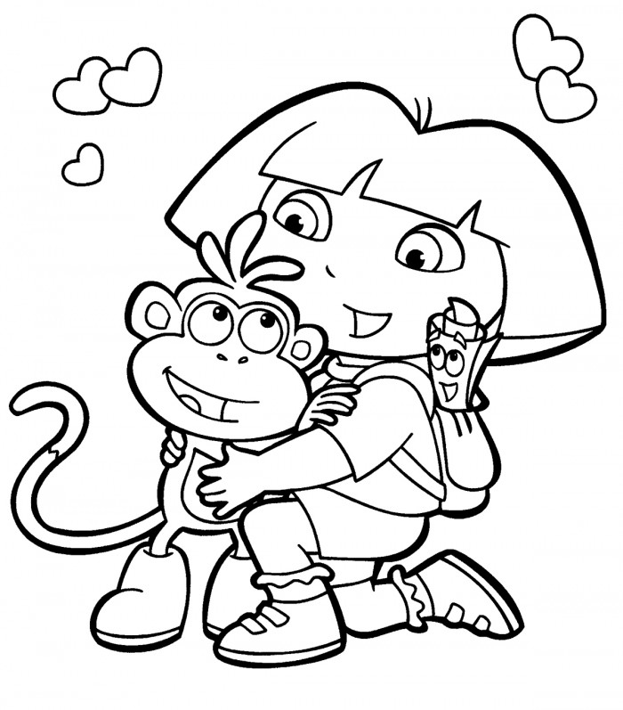 nick christmas coloring pages - photo#2