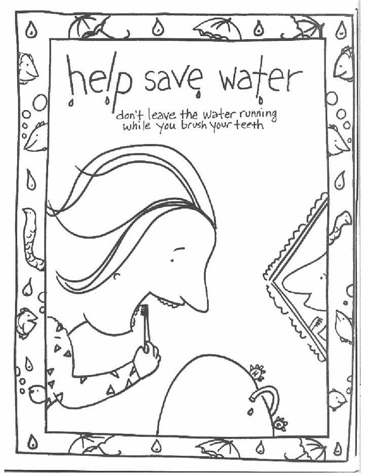 Water Buffalo Coloring Page