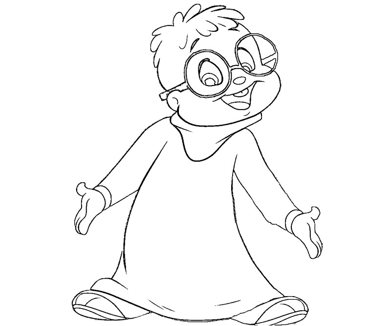 Alvin and the chipmunks coloring pages az coloring pages for Chipmunks coloring pages