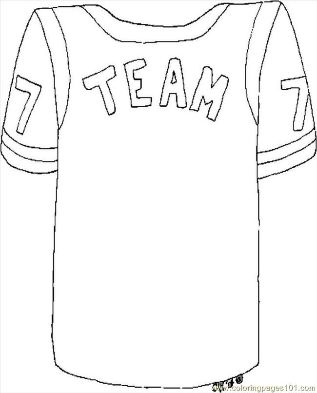 Football Team Coloring Pages