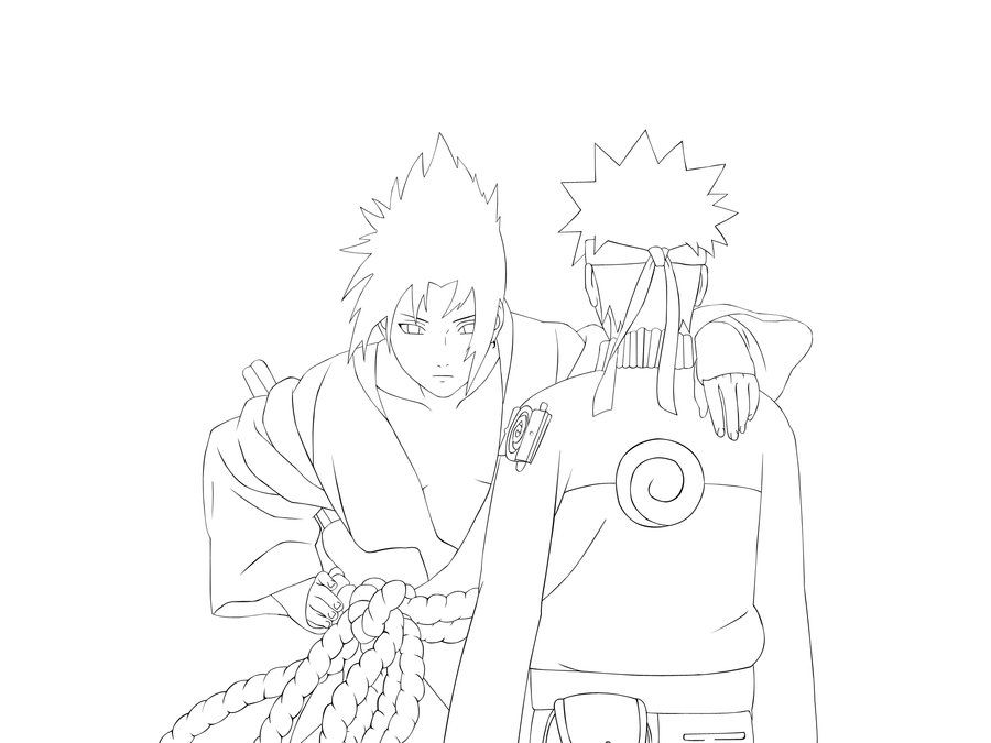 Naruto Shippuden Vs Sasuke Final Battle Coloring Pages