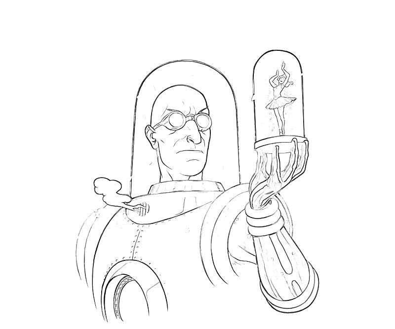 Mr Freeze Coloring Pages Coloring