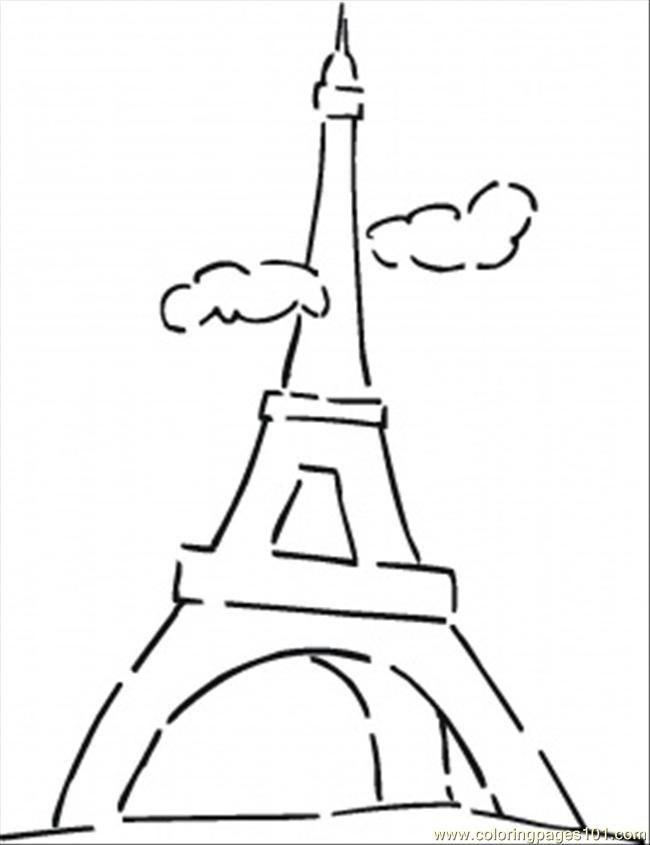 beginning french coloring pages - photo#25