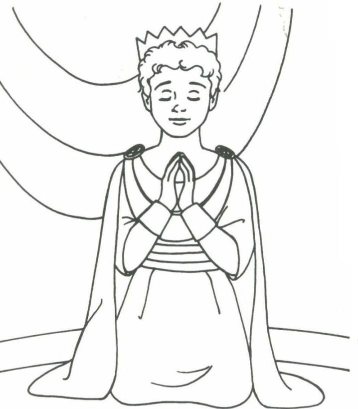 david the king coloring pages - photo#5
