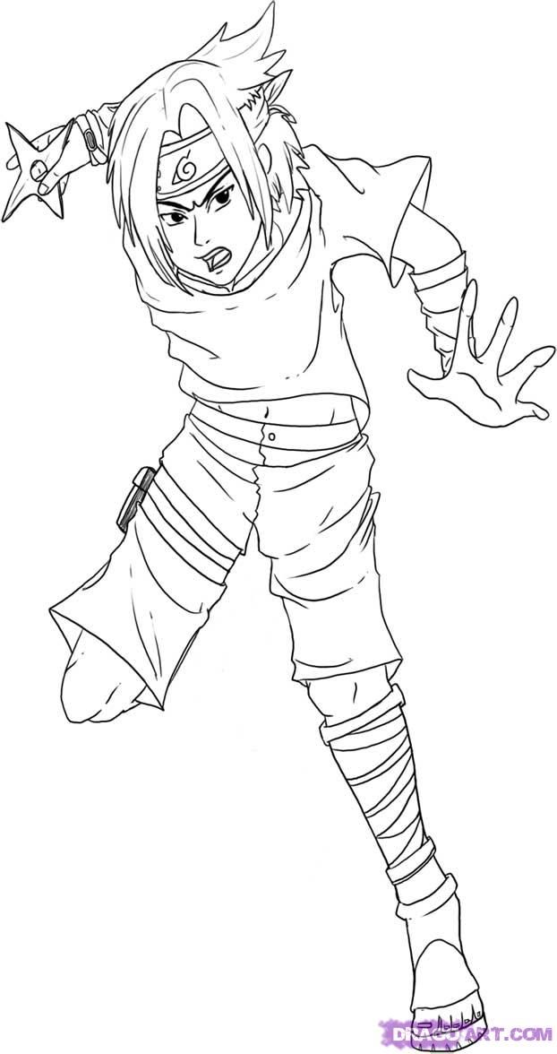 Naruto Coloring Pages 92