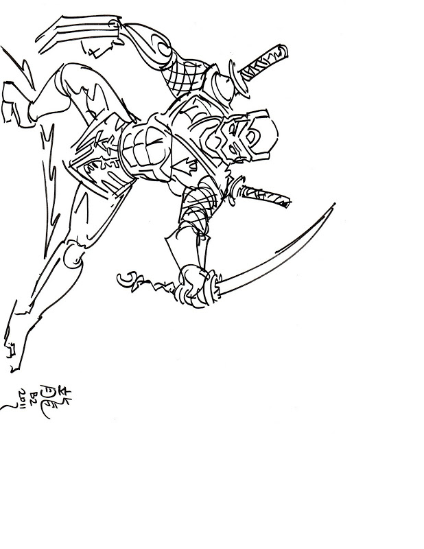 ninja cat coloring pages - photo#10