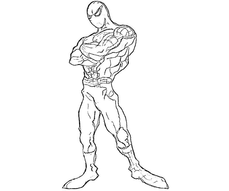 man 2 Colouring Pages