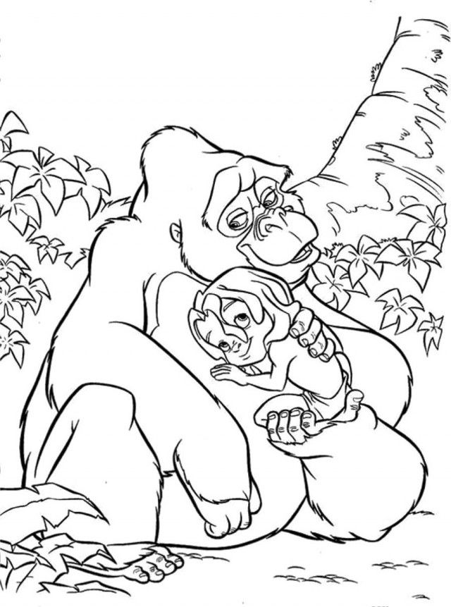 Free Printable King Kong Coloring Pages