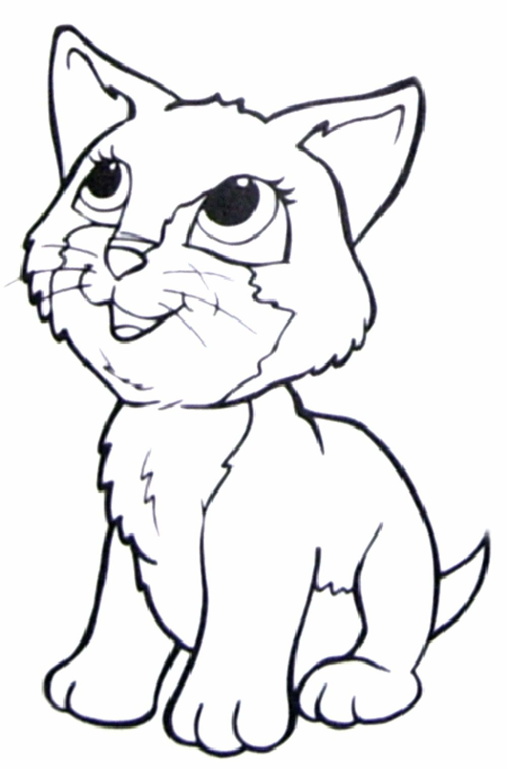 Cats And Dogs Coloring Pages To Print Coloring Pages