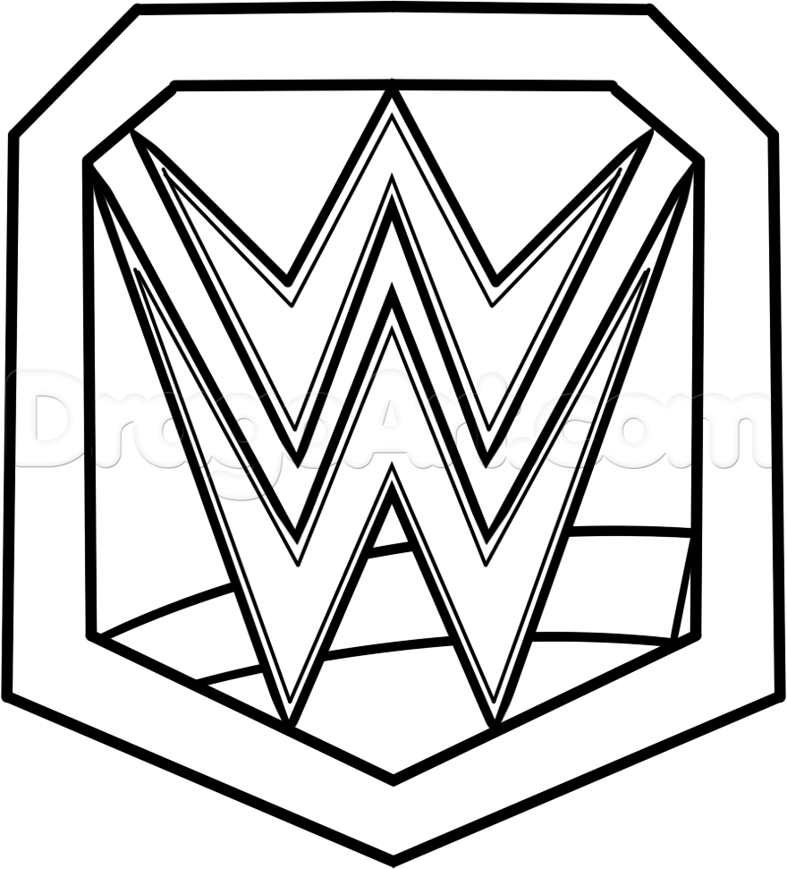 wwe coloring pages of roman reigns high quality coloring pages - Wwe Coloring Books