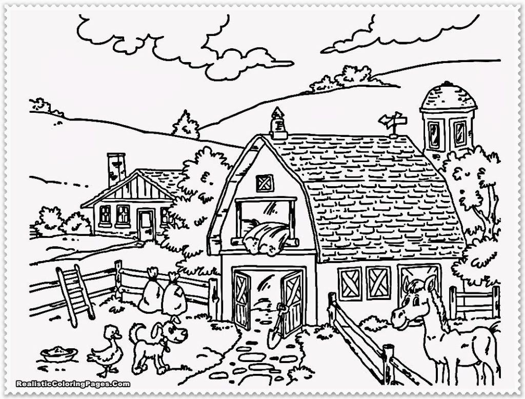 adult coloring pages landscapes coloring home