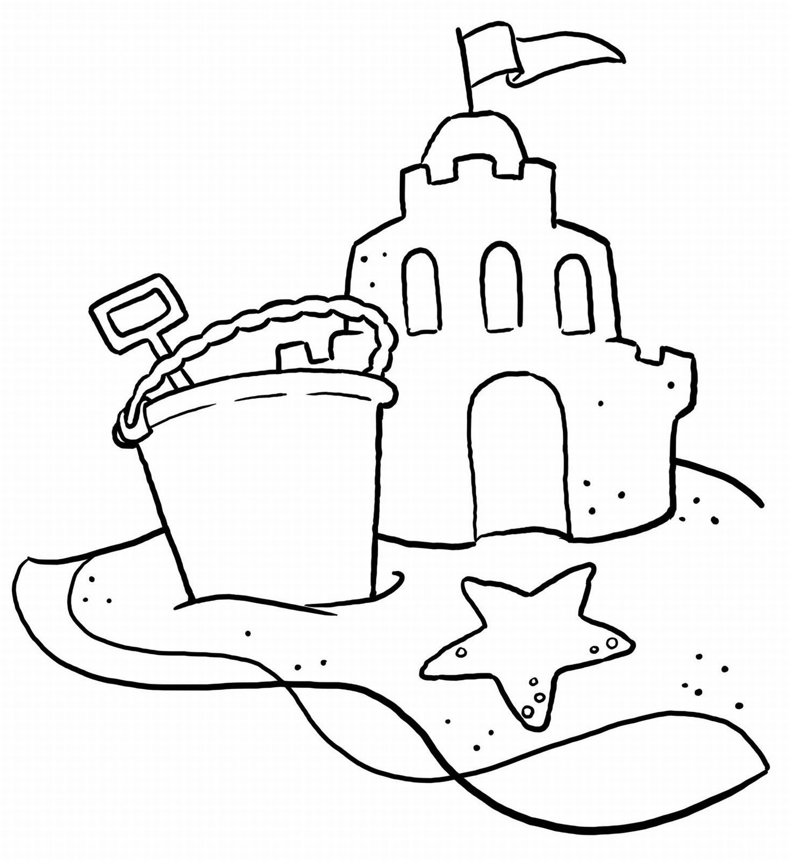 6 Pics Of Beach Party Coloring Page Printables