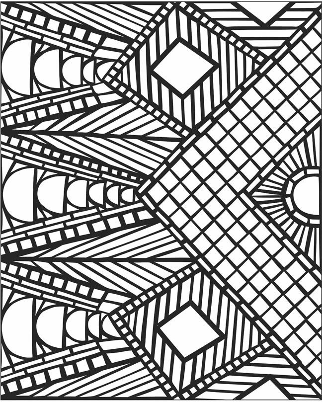 Printable 3d Coloring Sheets : 3d Coloring Pages Printable Coloring Home
