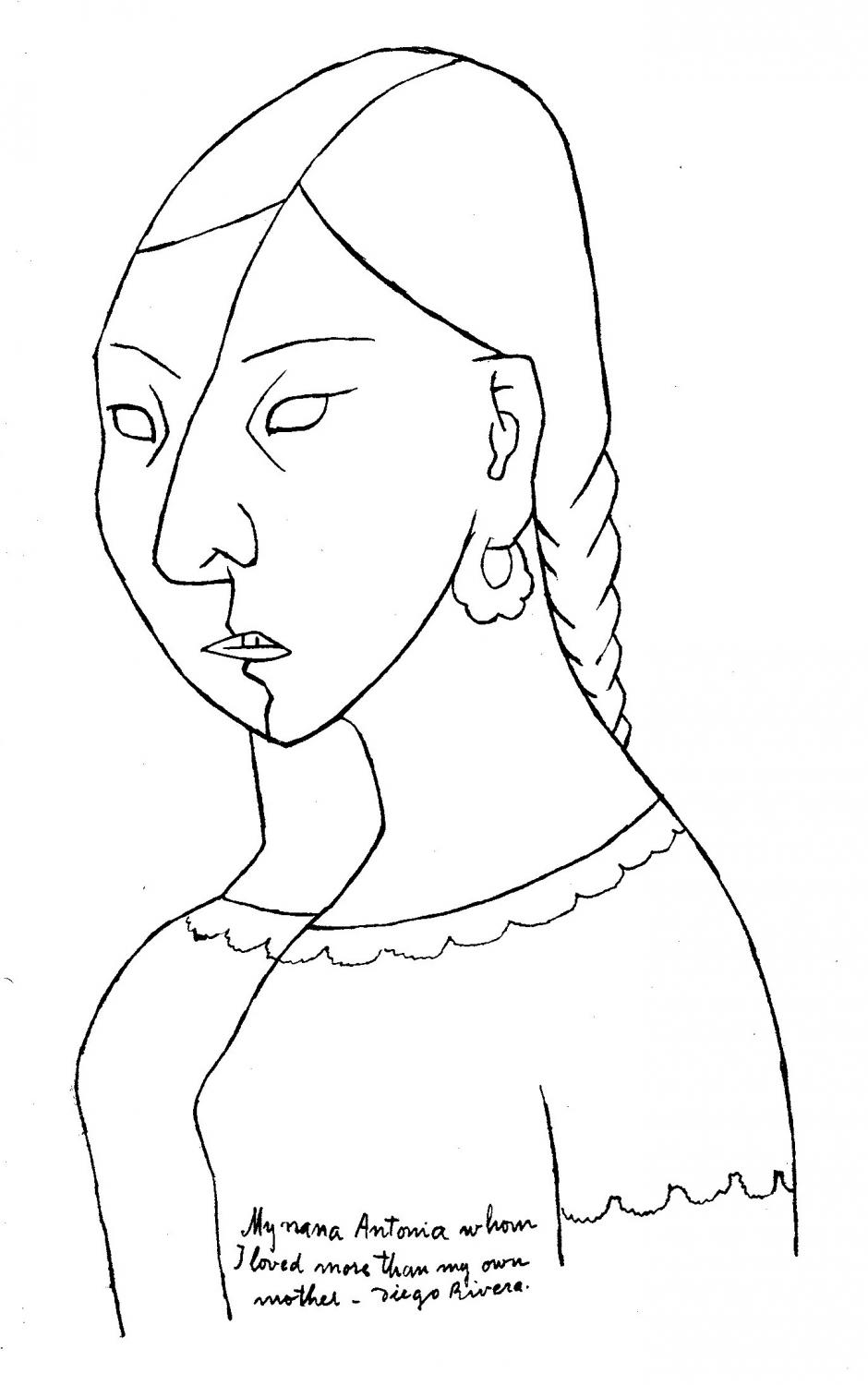 diego rivera printable coloring pages - photo#17