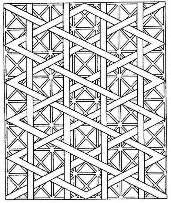 pattern coloring pages for teens - photo#39