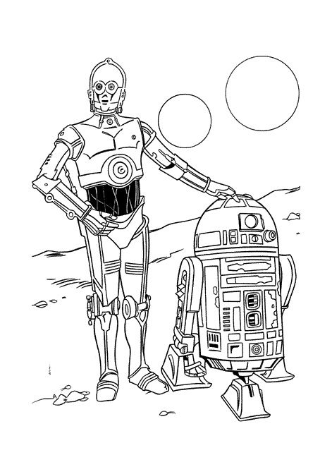 R2d2 coloring pages coloring home - Yoda coloriage ...