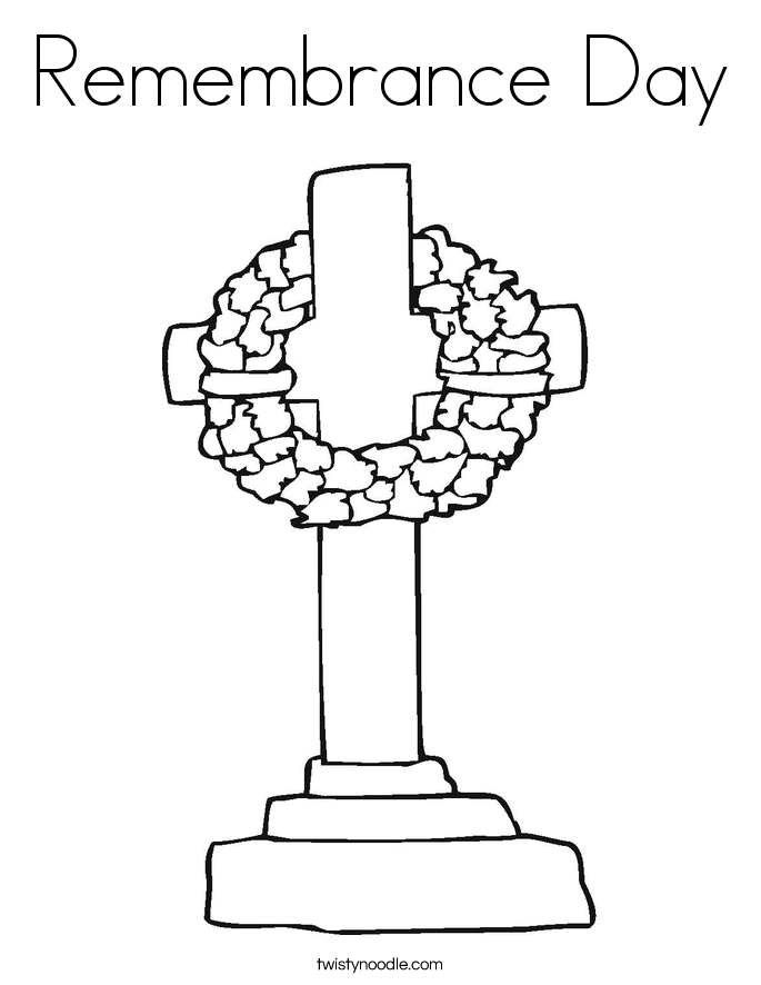 Coloring Pages For Remembrance Day : Remembrance day coloring pages az